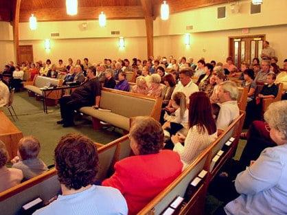Reverência na Igreja
