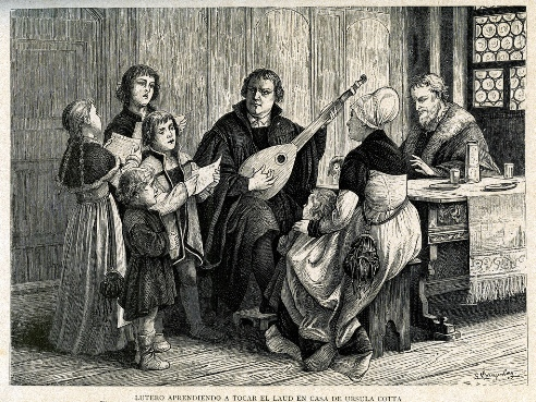 Martinho Lutero Contra o Extremismo Musical